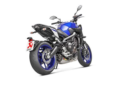 Motorrad Tuning Yamaha Mt 09 by Akrapovic F 252 R Yamaha Mt 09 Tracer 900 Und Xsr900