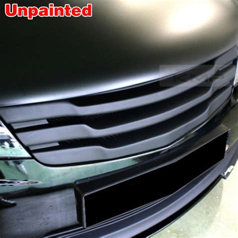 Front Grille Depan Avanza 2010 Hitam front sport radiator grill unpainted for kia 2009 2011 cerato forte koup
