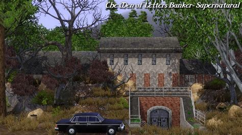 Mod The Sims   The Men of Letters Bunker  Supernatural