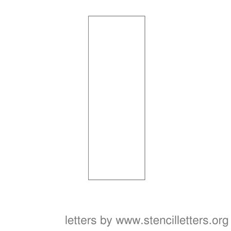 printable stencil letter i best photos of printable letter i stencil letter i