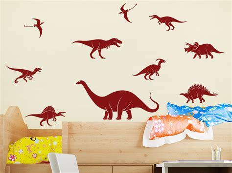 Wandtattoo Kinderzimmer Dinosaurier by Wandtattoo Dinosaurier Set Wandtattoo De