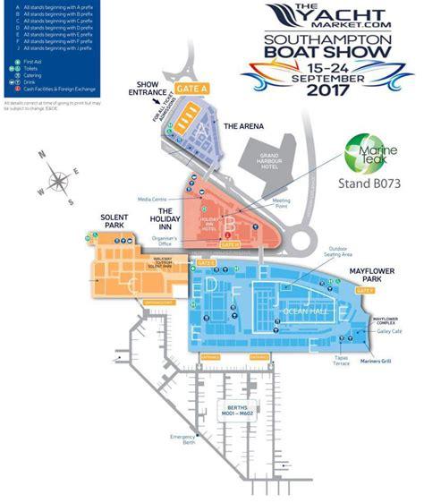 boat show 2017 map southhton boat show location marine teak