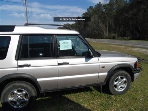 discovery land rover 2000 2000 land rover discovery series ii sport utility 4 door