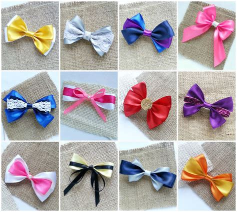 How To Make Handmade Hair - image gallery hair bows