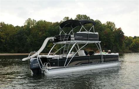 pontoon boats double decker double decker from premier sure to turn heads pontoon