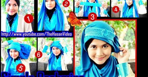 tutorial jilbab rajut tutorial jilbab untuk hijaber indonesia tutorial jilbab