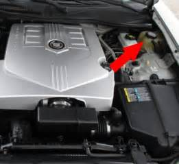 Cadillac Coolant How To Check And Add Coolant On Cadillac Cts 03 07 Diy