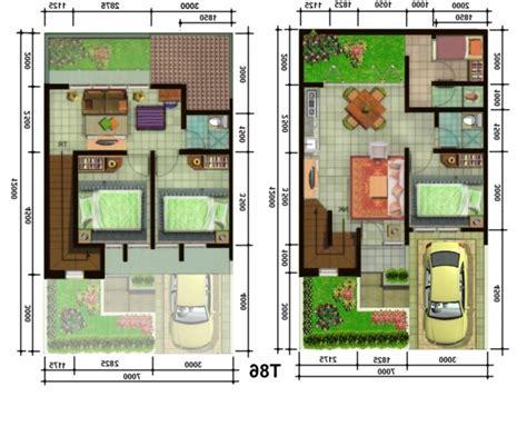 gambar foto denah rumah minimalis sederhana renovasi rumah net