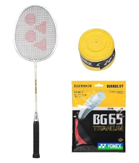 Original Yonex Replacement Grip Yonex 1 yonex gr 303 badminton racquet with replacement grip string bg 65ti buy at