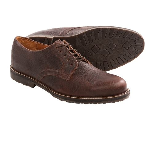 buffalo jackson billings oxford shoes bison leather for