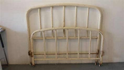 white iron beds 19th century french provincial white iron bed full size