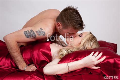 bedroom kissing quot romantic bedroom kiss quot stock photo and royalty free