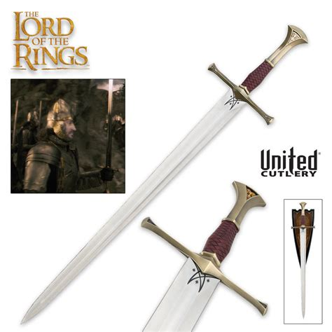 the lord of the rings sword of isildur budk knives