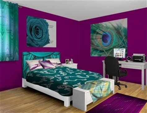 teal bedrooms for