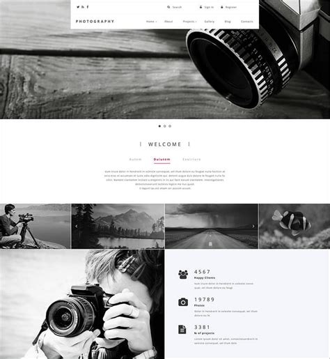 drupal themes photography 36 best creative drupal themes free website templates