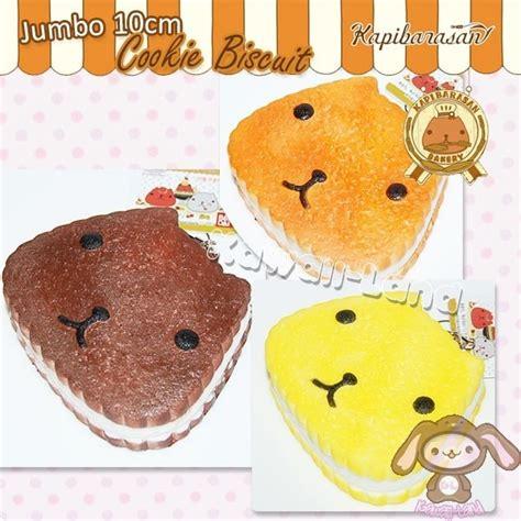 Squishy Kapibarasan kapibarasan jumbo cookie biscuit squishy