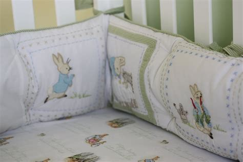 Bunny Crib Bedding Dolls House 1 12th Scale Cot Set Nursery Miniature Beatrix Potter Images Frompo