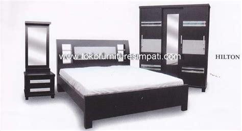 Ranjang Rak Sepatu Nakas Bedroom Set Mini kamar set toko kasur bed murah simpati