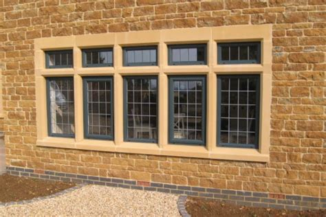 Traditional Style House window surrounds thorverton stone