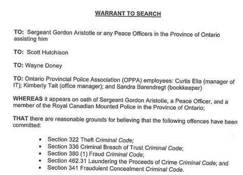 Section 83 Criminal Code by 83 Criminal Code Of Canada Section 380 Ord No 10 07