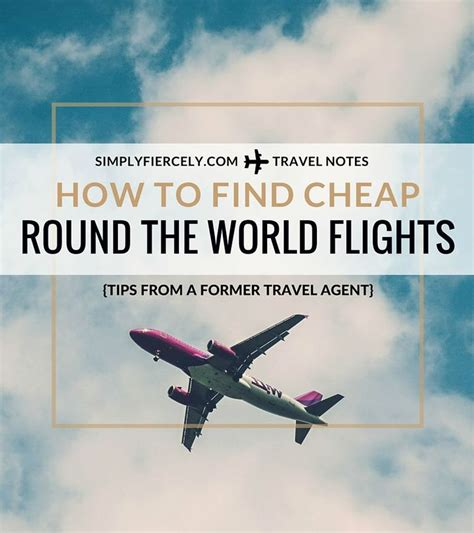 how to find cheap the world flights