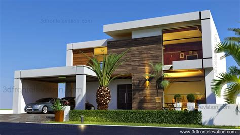 beautiful modern homes 3d front elevation com beautiful contemporary house design 2016