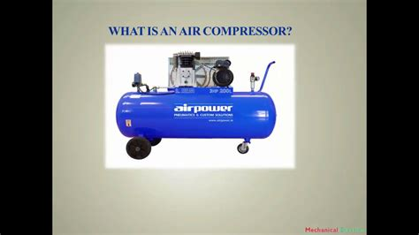 basics of air compressor and how a compressor works