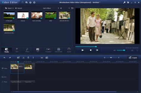 free download video editing software full version with key wondershare video editor download