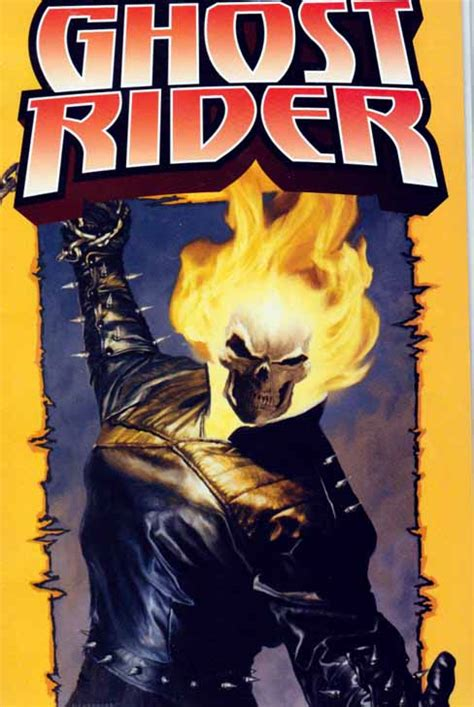with the the s riders books ghost rider poster book comic 2004 marvel legends series 7