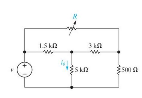 when the resistor r in fig 19 59 is the variable resistor r in the circuit in figure chegg