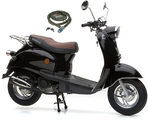 nova motors motorroller  ccm  kmh retro star