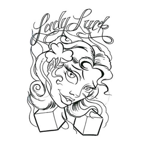 lady luck tattoo designs 15 designs that give luck
