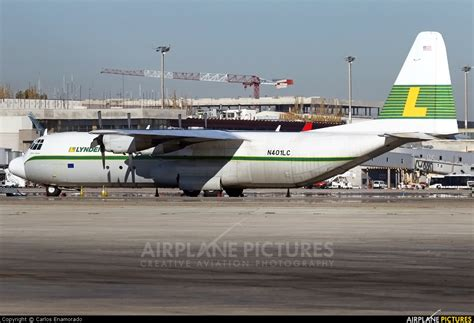 n401lc lynden air cargo lockheed l 100 hercules at madrid barajas photo id 343047