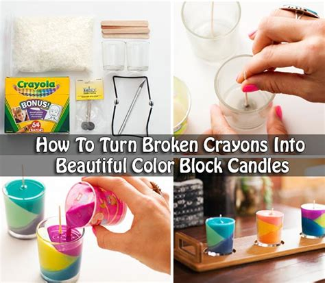 a broken crayon still colors how to live how to turn broken crayons into beautiful color block candles