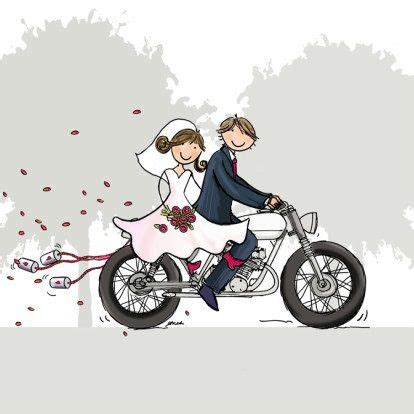 Wedding On Motorcycle Clipart by Motorcycle Clipart And Groom Pencil And In Color