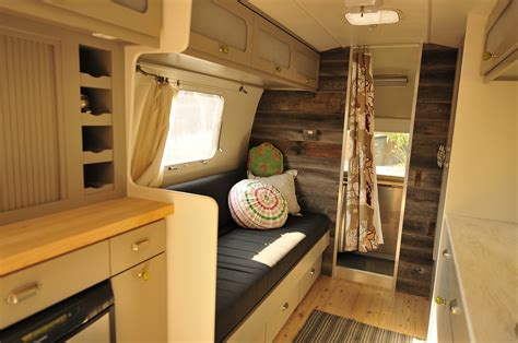 Renovated Rv Interiors by Renovation Trailers Caravans Interiors Rustic Charms