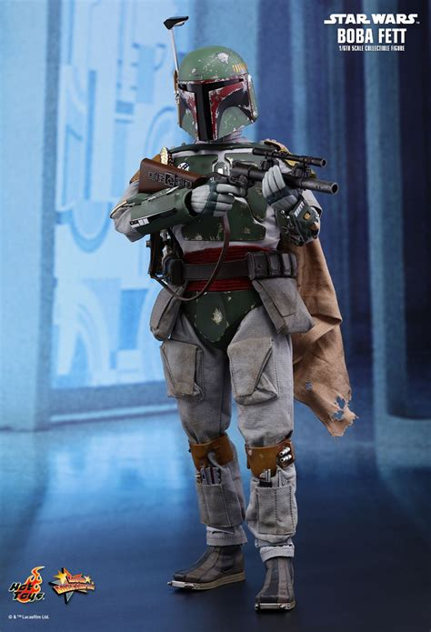 hot toys star wars empire strikes  boba fett