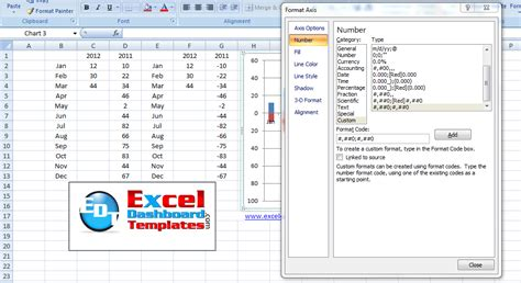 excel format vertical axis thanks