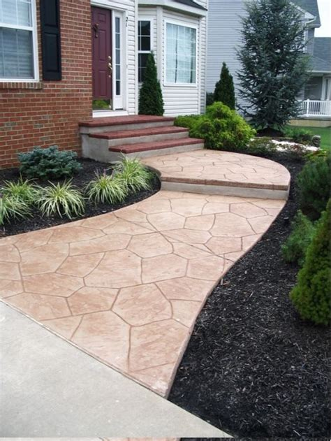 Decorative Concrete Walkways by 65 Best Walkway And Stoop Images On Backyard