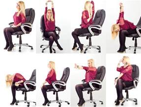 Office Desk Stretches Simple Desk Yoga Poses That Won T Freak Out Your Coworkers