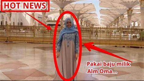 berita terkini aurel hermansyah pakai baju  hijab alm