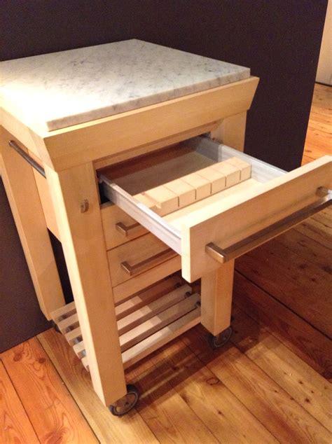 carrelli cucina legno carrello da cucina in legno con doppio piano di lavoro di