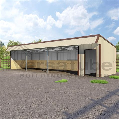 Shed On A Slope by Single Slope Loafing Shed 12 X 42 X 10 8 Barn Or