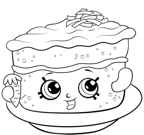 shopkins cake coloring pages 25 rare shopkins season 6 coloring pages