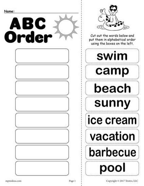 printable abc order the 25 best alphabetical order ideas on pinterest