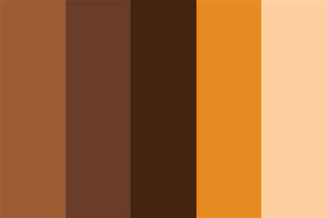 caramel color caramel cheesecake color palette