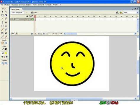 tutorial in flash tutorial come creare emoticons con flash 8 youtube