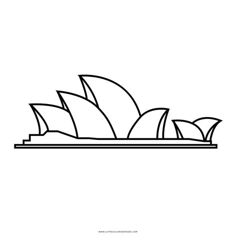 coloring page of sydney opera house gingerbread house coloring pages printable haunted house