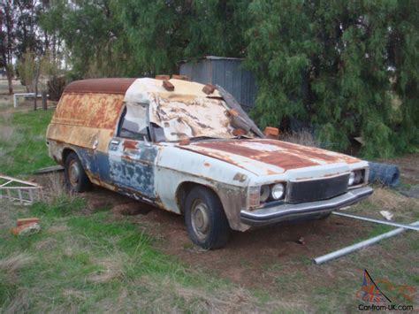 holden hq windowless panelvan 1973 hj prem front project