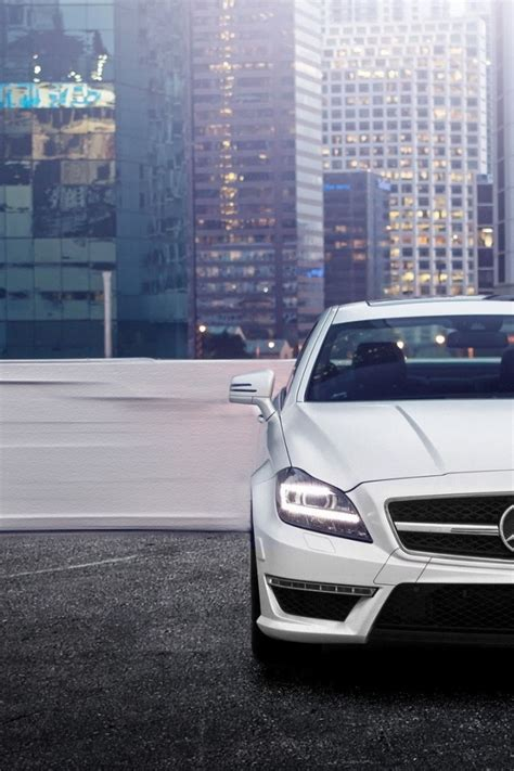 wallpaper iphone 6 mercedes 640x960 mercedes benz cls 63 amg iphone 4 wallpaper